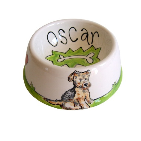 Small Personalised Dog Bowl 3