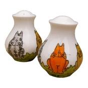 Laura Lee Designs - Cat's Salt and Pepper Set