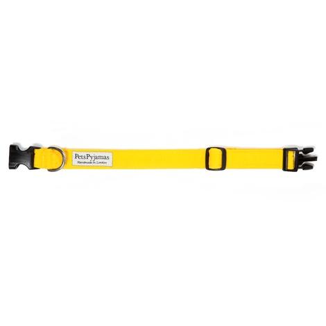 Pawditch Yellow Dog Collar, Lead & Coat Set  4