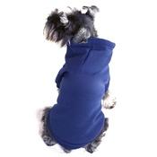 Puchi - Plain Dog Hoodie - Chelsea Blue