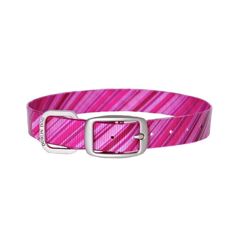 Koa Waterproof Dog Collar – Oxford Raspberry Sorbet