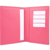 Chihuy - Leather Pet Passport - Bright Pink
