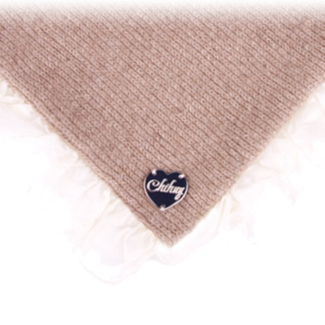 Dog Blanket in Beige Sepia Cashmere 3