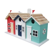 Garden Bazaar - Beach Hut Birdhouse