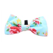 Pet Pooch Boutique - Blue Vintage Bow Tie