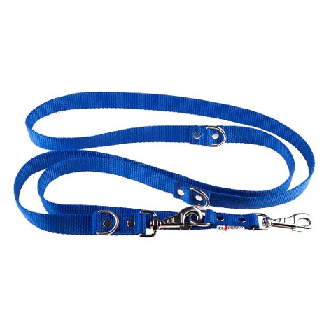 Adjustable Juicy Style Dog Lead - Royal Blue