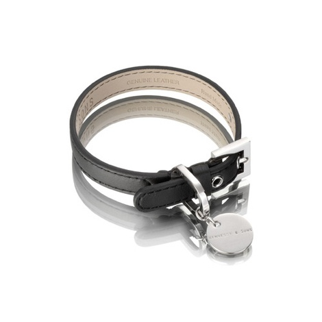 Sailor Dog Collar - Black