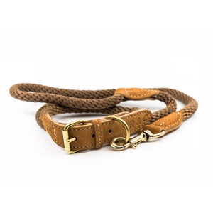 Rope collar (Braided) - Olive