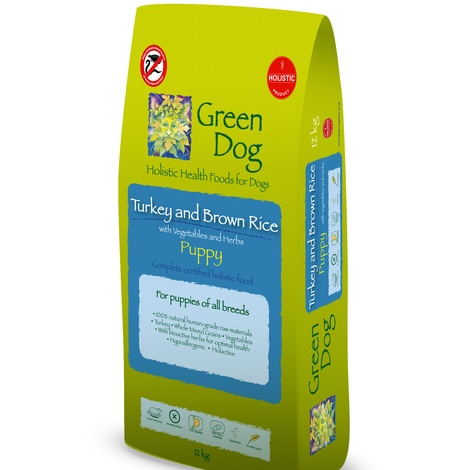 Turkey and Brown Rice Puppy 12 kg