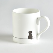 Jin Designs - Sitting Dog Mug