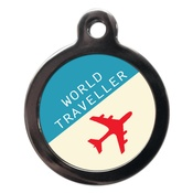 PS Pet Tags - World Traveller Dog ID Tag