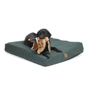 House of Paws - Green Water Resistant Deep Filled Dog Bed