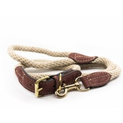 Ralph & Co - Rope lead (braided) - Ivory