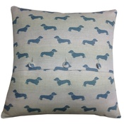 L&S Interiors - Blue Daxi Cushion