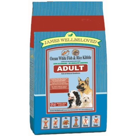 Adult Fish & Rice Dog Food