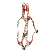 Yellow Dog - Comic Strip Step-In Dog Harness
