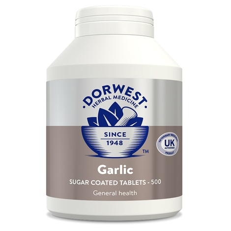 Garlic Tablets for Dogs and Cats 3