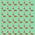 Mr Fox Gift Paper
