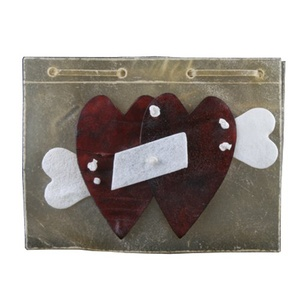 Love Hearts Rawhide Card
