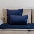 Velvet Scatter Cushion - Ink
