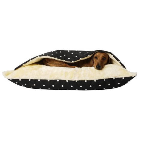Snuggle Bed - Dotty Charcoal 2