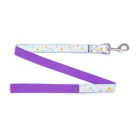 White Denim Dog Lead