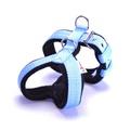 2.5cm Width Fleece Comfort Dog Harness – Baby Blue