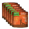 Salmon Raspberry Wet Food Dog Food x 6