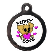 PS Pet Tags - Puppy Love Pet ID Tag