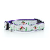 "Pet Pooch Boutique - Cowboys & Horses Dog Collar 1"" Width"