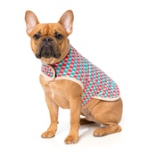 FuzzYard - Festive Spirit Christmas Wrap Dog Coat
