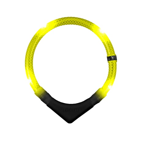 Premium Leuchtie LED Collar - Yellow