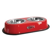 Happy Pet - Deluxe Double Diner for Pets