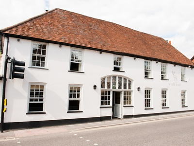 The White Hart in Overton, Hampshire, Overton