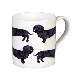 Dachshund Mug - Purple