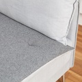 Wool Sofa Topper - Classic Grey 2
