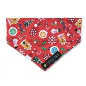 Ditsy Pet - Jolly Christmas Slide on Bandana