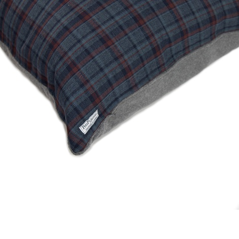 Hamish Personalised Dog Bed - Blue  3