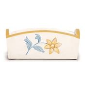 Katalin zu Windischgraetz - White, Sunglow & Blue French Provincial Toy Box