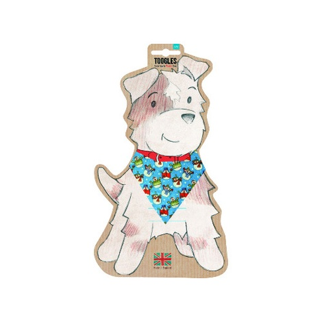 Toggles Dog Bandana - Frosty the Snowman