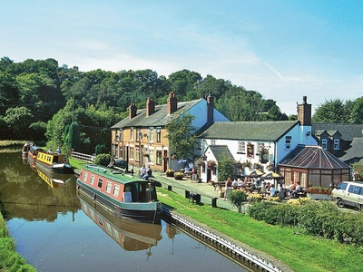 Caldon Canal Cottage, Staffordshire