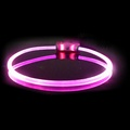 Lumitube Light Up Dog Collar - Purple