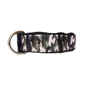 "Pet Pooch Boutique - Army Dog Collar 1"" Width"