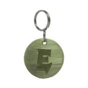 The Pet Jeweller - Alphabet Dog ID Tag - Plain brass on plain brass