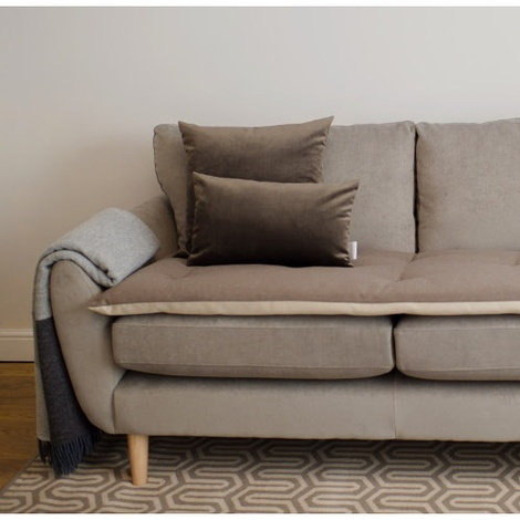 Wool Sofa Topper - Earth