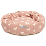 Mutts & Hounds - Old Rose Donut Bed