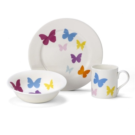 Butterfly China Set
