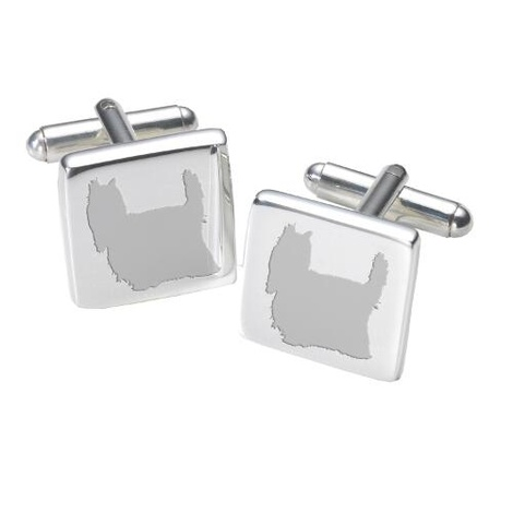 Cufflinks - Yorkshire Terrier