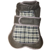 Go Walk - Go Walk Tweed Dog Coat – Blue Check