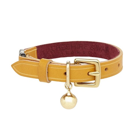 Mango - Heritage Ocre Cat Collar